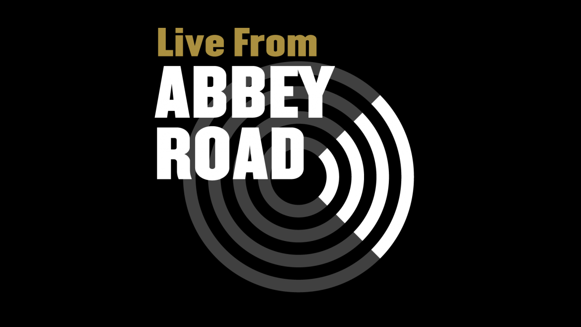 Our logo for 'Live From Abbey Road'