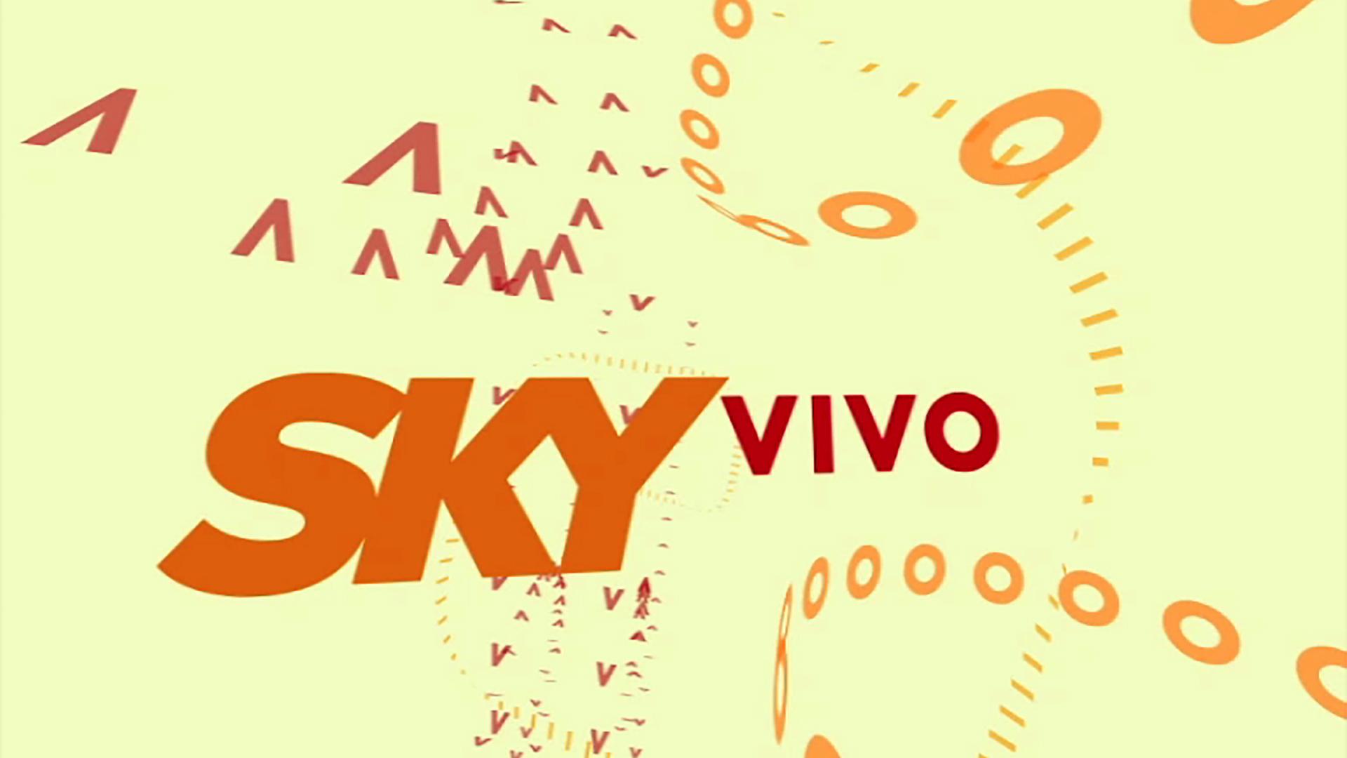 Still from a Sky Vivo ident