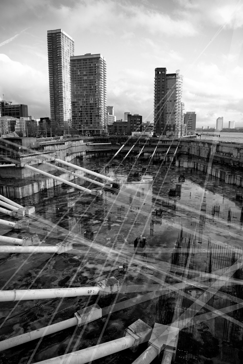 Augmented Landscape, Canary Wharf