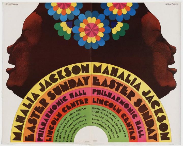 Concert poster by Milton Glaser, 1967.