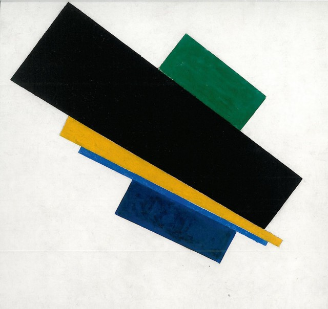 'Suprematism, 18th Construction' by Kazimir Malevich