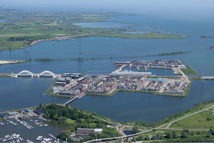 The islands of IJburg