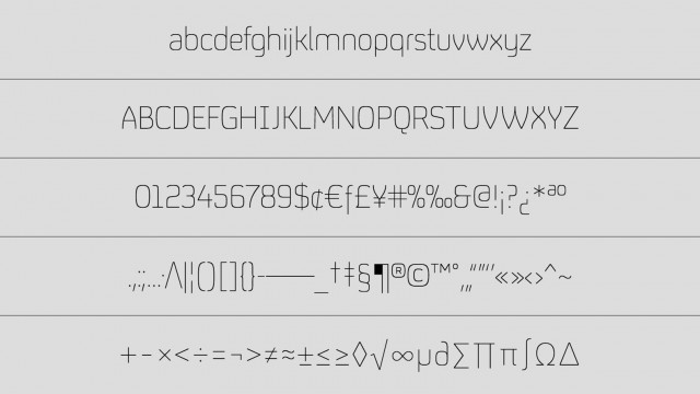The interactive type specimen sheet
