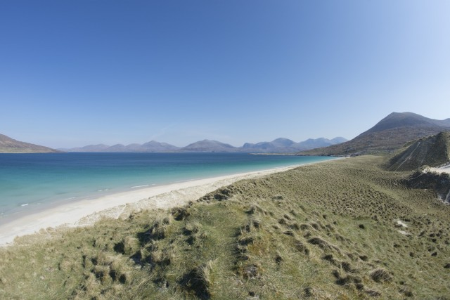 Luskentyre Beach near Seilebost, South Harris