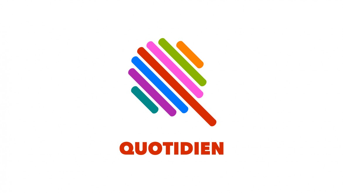 Our new logo for Quotidien
