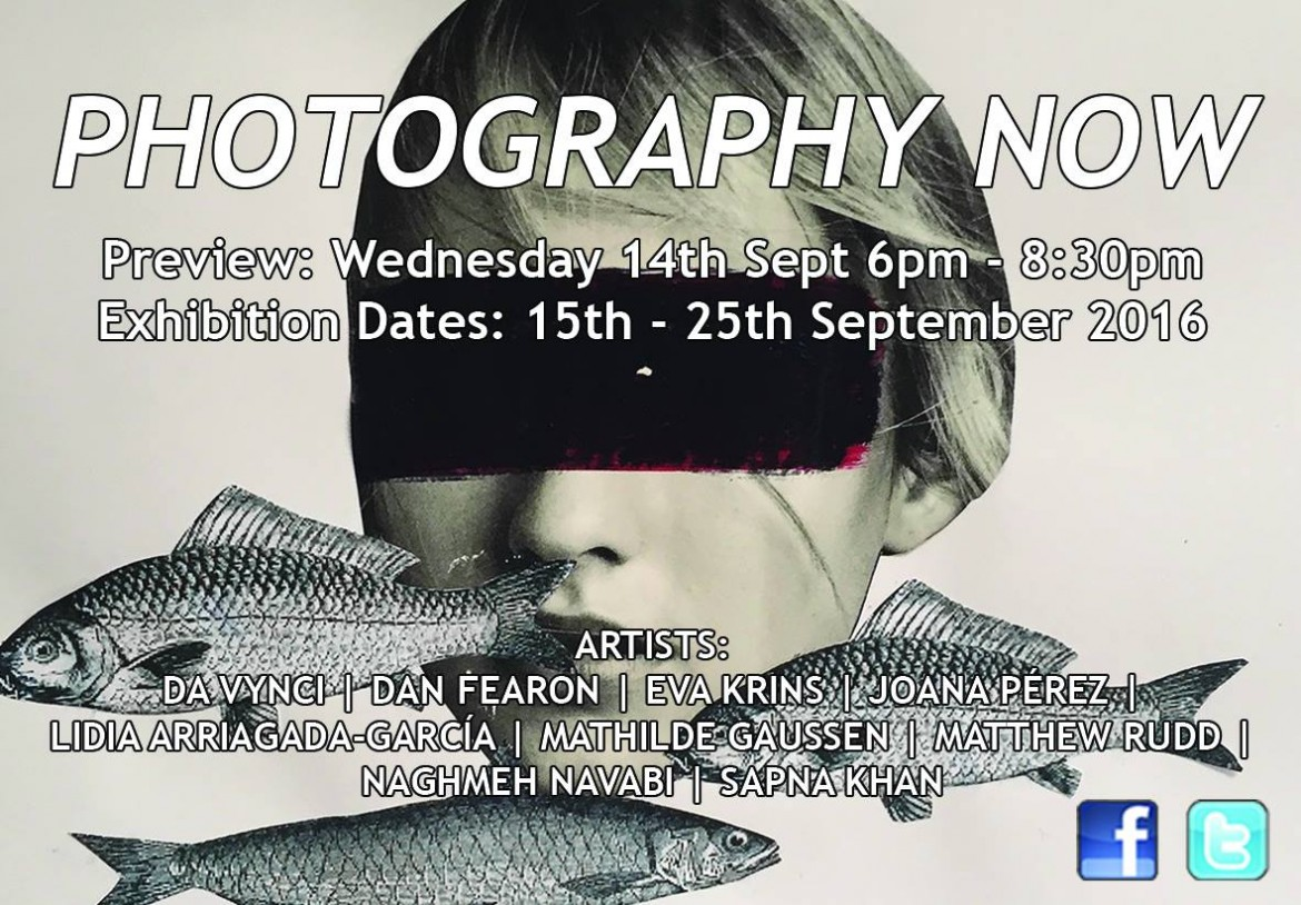 Photography Now flyer