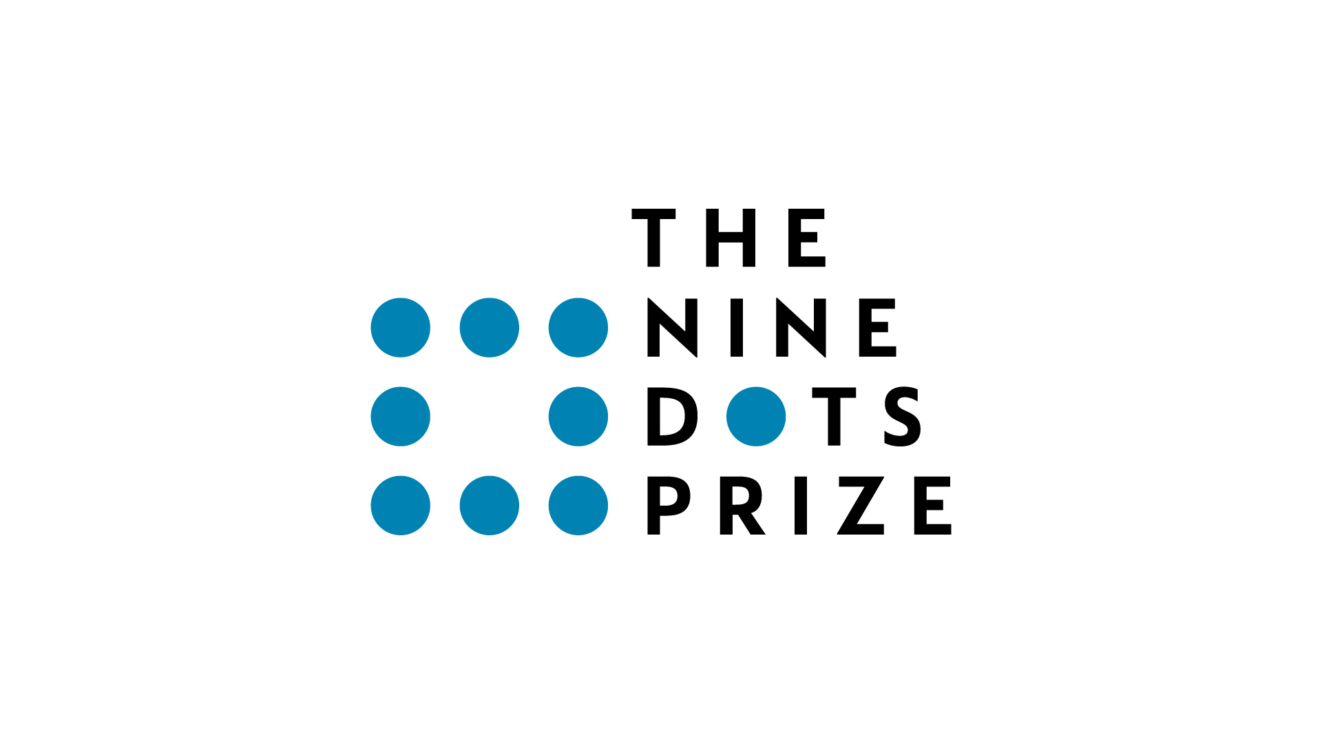 Our new logo for The Nine Dots Prize