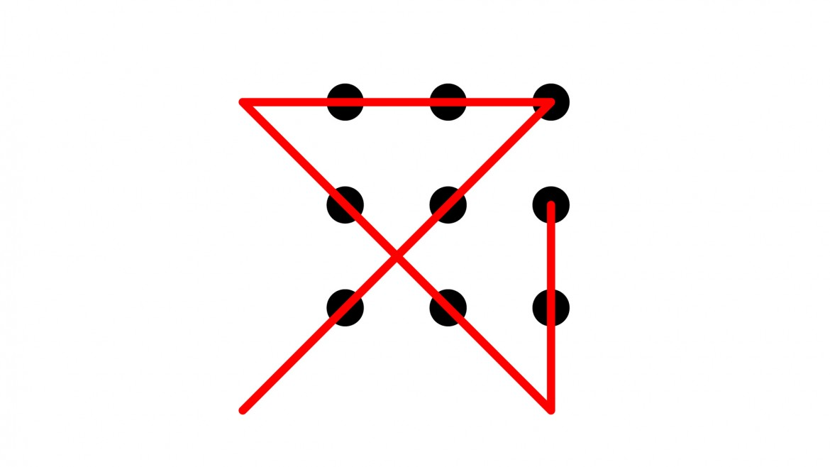 The Nine Dots Puzzle